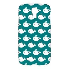 Cute Whale Illustration Pattern Samsung Galaxy S4 I9500/I9505 Hardshell Case
