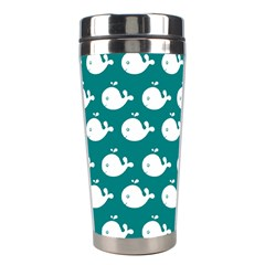 Cute Whale Illustration Pattern Stainless Steel Travel Tumblers