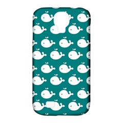 Cute Whale Illustration Pattern Samsung Galaxy S4 Classic Hardshell Case (PC+Silicone)
