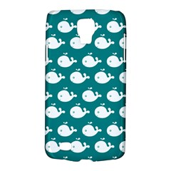 Cute Whale Illustration Pattern Galaxy S4 Active