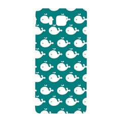Cute Whale Illustration Pattern Samsung Galaxy Alpha Hardshell Back Case