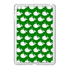Cute Whale Illustration Pattern Apple Ipad Mini Case (white) by creativemom