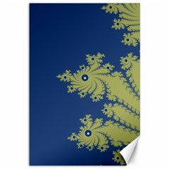 Blue And Green Design Canvas 12  X 18   by digitaldivadesigns