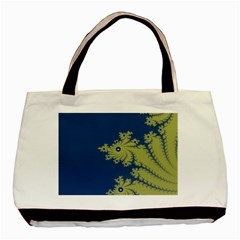 Blue And Green Design Basic Tote Bag (two Sides)  by digitaldivadesigns