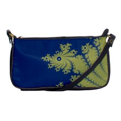 Blue And Green Design Shoulder Clutch Bags by digitaldivadesigns