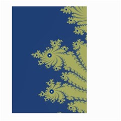 Blue And Green Design Large Garden Flag (two Sides) by digitaldivadesigns