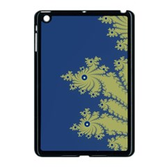 Blue And Green Design Apple Ipad Mini Case (black) by digitaldivadesigns