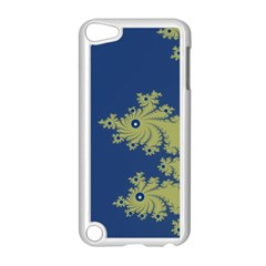 Blue And Green Design Apple Ipod Touch 5 Case (white) by digitaldivadesigns