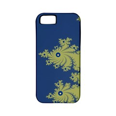 Blue And Green Design Apple Iphone 5 Classic Hardshell Case (pc+silicone) by digitaldivadesigns