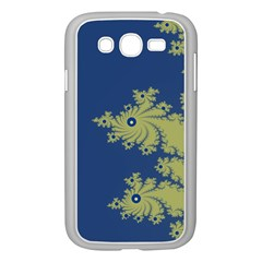 Blue And Green Design Samsung Galaxy Grand Duos I9082 Case (white) by digitaldivadesigns
