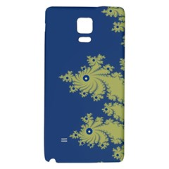 Blue And Green Design Galaxy Note 4 Back Case by digitaldivadesigns