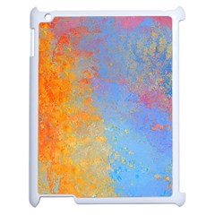 Hot And Cold Apple Ipad 2 Case (white) by digitaldivadesigns