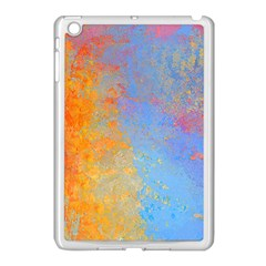 Hot And Cold Apple Ipad Mini Case (white) by digitaldivadesigns