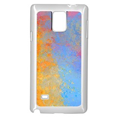 Hot And Cold Samsung Galaxy Note 4 Case (white) by digitaldivadesigns