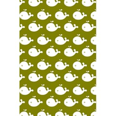 Cute Whale Illustration Pattern 5 5  X 8 5  Notebooks by creativemom