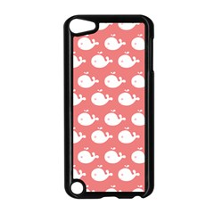 Cute Whale Illustration Pattern Apple Ipod Touch 5 Case (black) by creativemom
