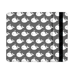 Cute Whale Illustration Pattern Samsung Galaxy Tab Pro 8 4  Flip Case by creativemom