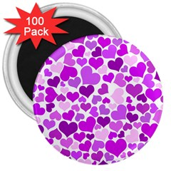 Heart 2014 0929 3  Magnets (100 Pack) by JAMFoto