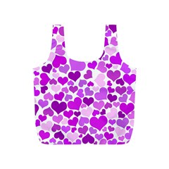 Heart 2014 0929 Full Print Recycle Bags (s)