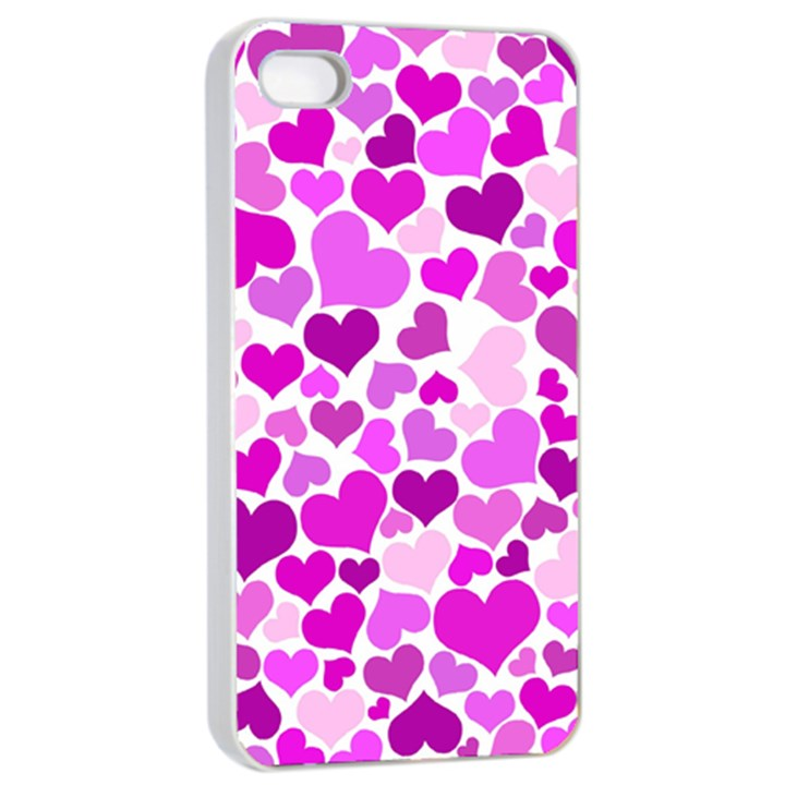 Heart 2014 0930 Apple iPhone 4/4s Seamless Case (White)