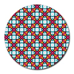 Cute Pattern Gifts Round Mousepads
