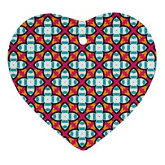 Cute Pattern Gifts Ornament (Heart)