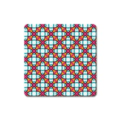 Cute Pattern Gifts Square Magnet