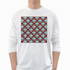 Cute Pattern Gifts White Long Sleeve T-Shirts