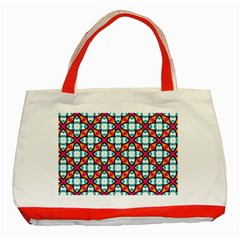 Cute Pattern Gifts Classic Tote Bag (Red)