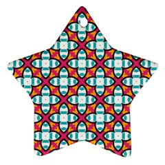 Cute Pattern Gifts Star Ornament (Two Sides)