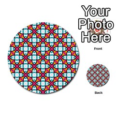 Cute Pattern Gifts Multi-purpose Cards (Round)