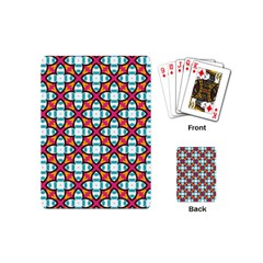 Cute Pattern Gifts Playing Cards (Mini)