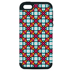 Cute Pattern Gifts Apple iPhone 5 Hardshell Case (PC+Silicone)