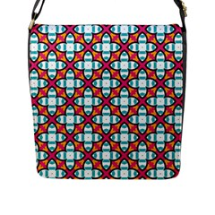 Cute Pattern Gifts Flap Messenger Bag (L)