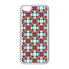 Cute Pattern Gifts Apple iPhone 5C Seamless Case (White)