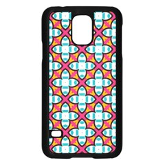 Cute Pattern Gifts Samsung Galaxy S5 Case (Black)