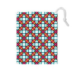 Cute Pattern Gifts Drawstring Pouches (Large)