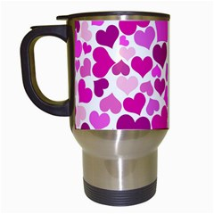 Heart 2014 0931 Travel Mugs (white) by JAMFoto