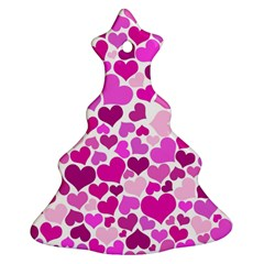 Heart 2014 0931 Christmas Tree Ornament (2 Sides)