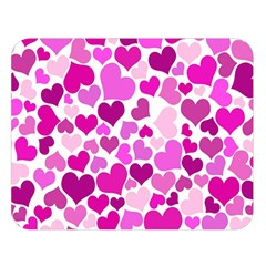 Heart 2014 0931 Double Sided Flano Blanket (large)