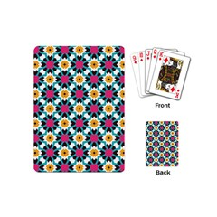 Cute Pattern Gifts Playing Cards (mini)  by creativemom