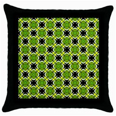 Cute Pattern Gifts Throw Pillow Cases (black) by creativemom
