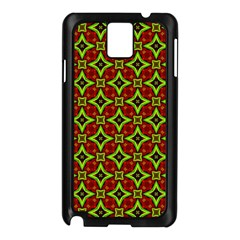 Cute Pattern Gifts Samsung Galaxy Note 3 N9005 Case (black) by creativemom