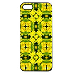 Cute Pattern Gifts Apple Iphone 5 Seamless Case (black) by creativemom