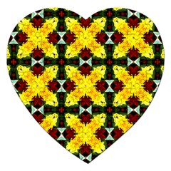 Cute Pattern Gifts Jigsaw Puzzle (heart) by creativemom