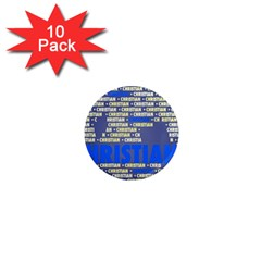 Christian 1  Mini Magnet (10 Pack)