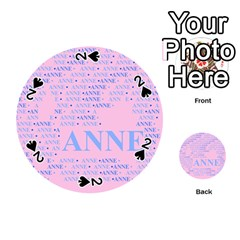 Anne Playing Cards 54 (round)