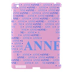 Anne Apple Ipad 3/4 Hardshell Case (compatible With Smart Cover) by MoreColorsinLife