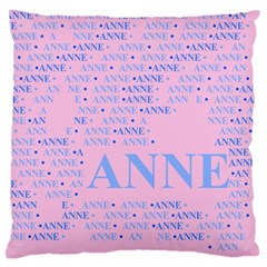 Anne Large Cushion Cases (two Sides)  by MoreColorsinLife