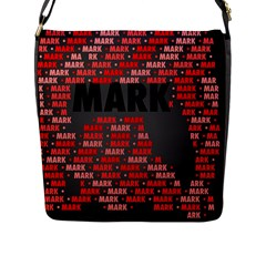 Mark Flap Messenger Bag (l)  by MoreColorsinLife